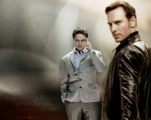 Michael Fassbender wallpaper containing a well dressed person called Michael as Magneto