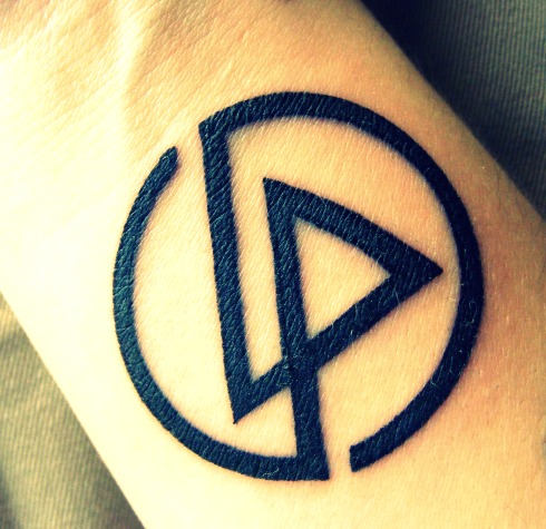 linkin park wallpaper entitled My LP tattoo <3
