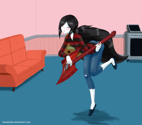 My Song - marceline Fan Art