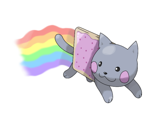 Nyan Cat Hintergrund entitled Nyan cat = The best legendary ever