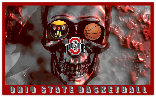 Ohio State universidad baloncesto fondo de pantalla called OHIO STATE BUCKEYES baloncesto