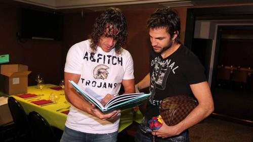 Players with their buku