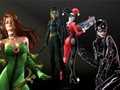 Poison Ivy, Catwoman, Talia Al Ghul and Harley Quinn