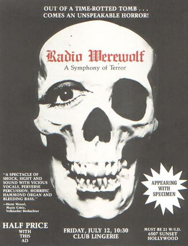 Radio Werewolf Poster