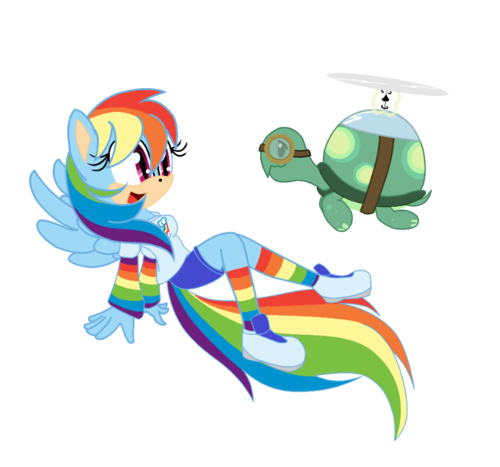 regenbogen Dash and Tank