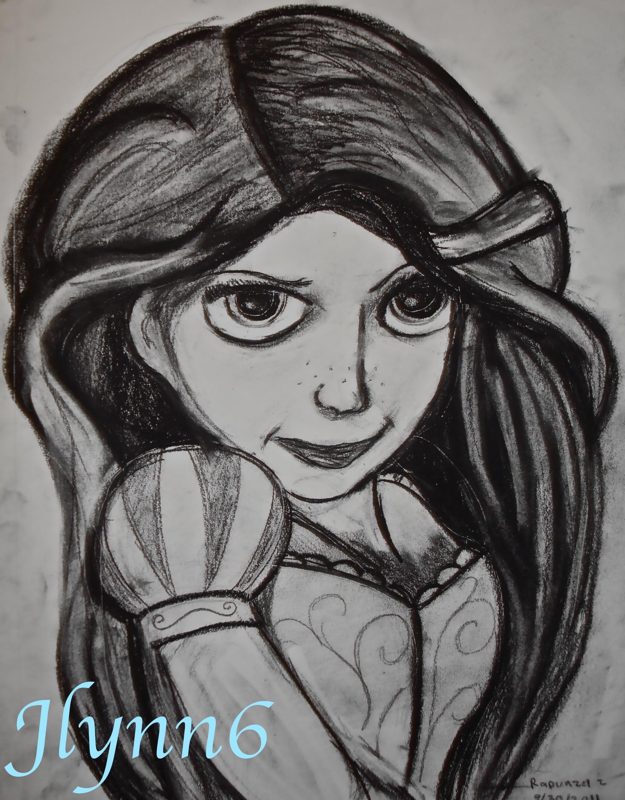 Rapunzel - Disney Princess Fan Art (27248111) - Fanpop