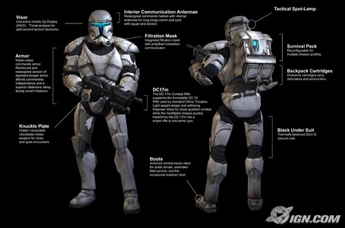 stella, stella, star Wars wallpaper entitled Republic commando