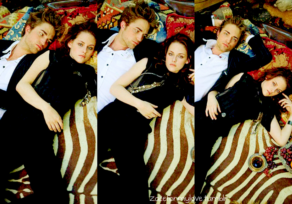 La Saga Twilight Images Robert Pattinson And Kristen Stewart