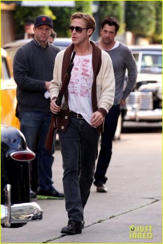 Ryan Gosling: 'Gangster Squad' Rehearsal