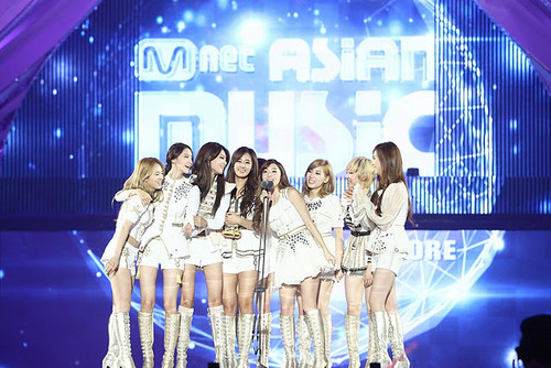 SNSD - Best Artist Of The Jahr (2011 MAMA)
