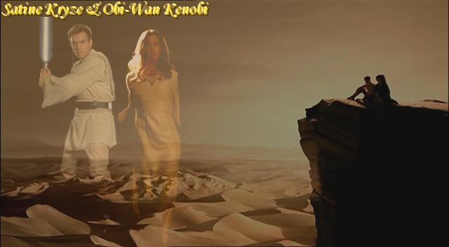 kenobi and satine