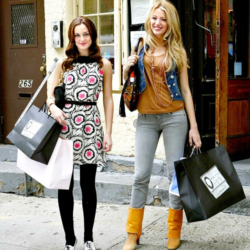 Serena and Blair