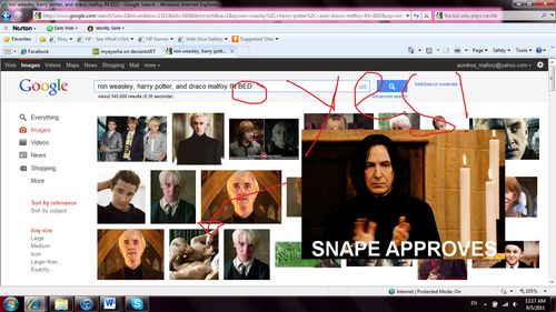 Snape approves!