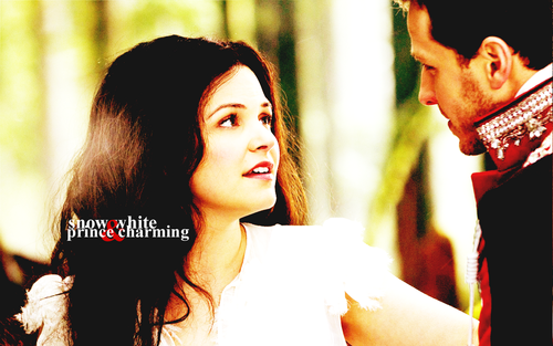 Snow White & Charming fond d'écran
