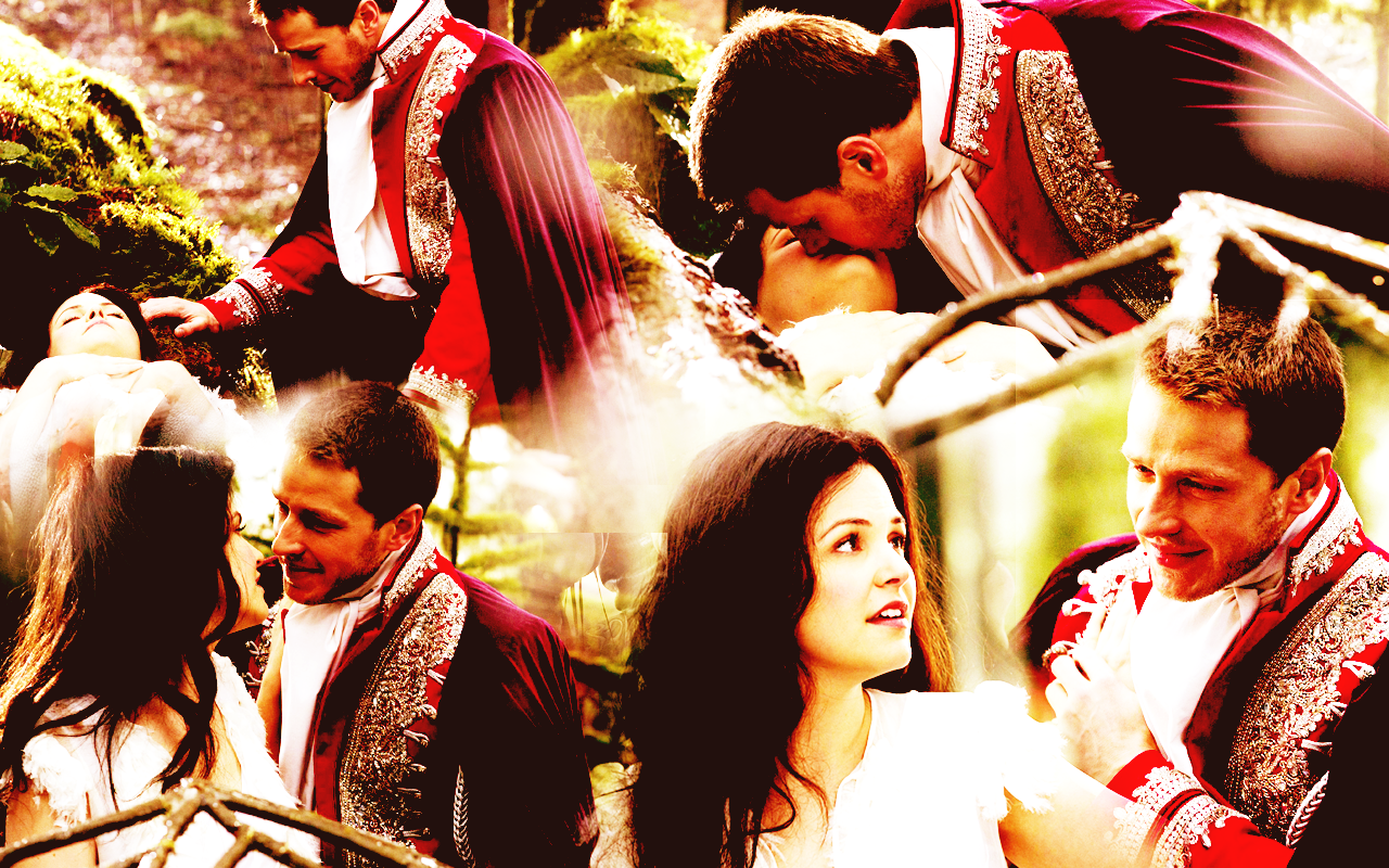 Snow White & Charming wallpaper - Once Upon A Time ...