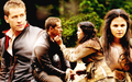 Snow White & Charming wallpaper