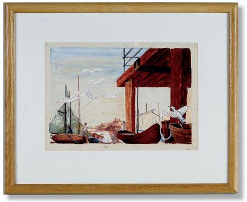 Stuart Sutcliffe's Seagull Painting
