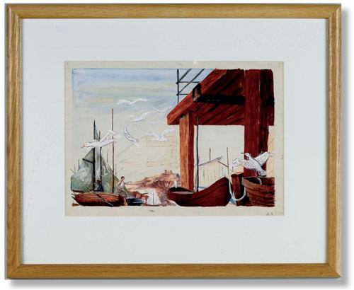 Sutcliffe's Seagull Painting