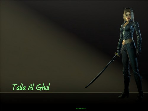 Talia Al Ghul - batman Wallpaper