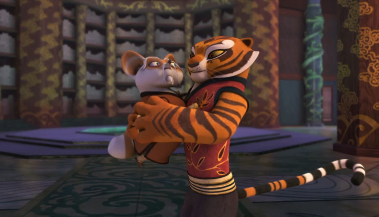 Kung Fu Panda Legends Of Awesomeness Images Tigress Hug Wallpaper