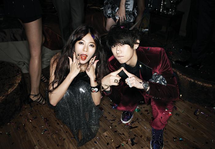 addicters: B2st's JunHyung and Kara's Hara confirmed dating???