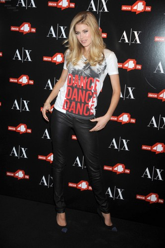 Unveils The A|X Armani Exchange Dance4life T-Shirt In Honor Of World AIDS dia