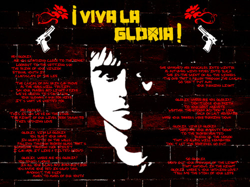 Viva La Gloria-Lyrics