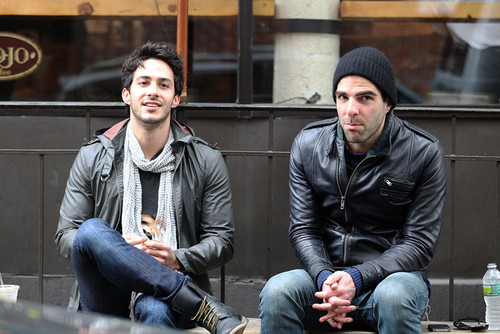 Zachary Quinto Spotted With New Mystery Man