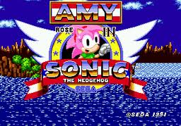 amy in sonic!