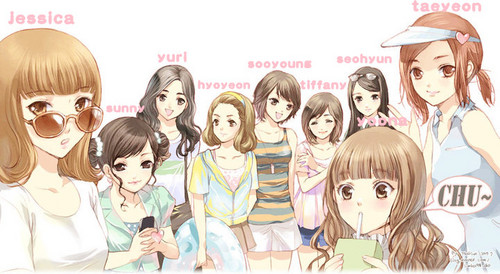 anime version of SNSD