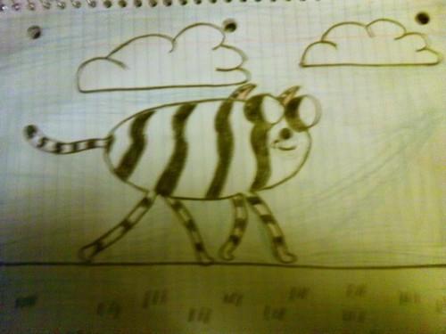 black the white tiger
