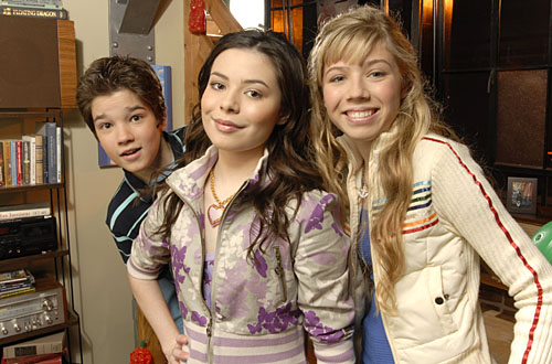 iCarly kertas dinding entitled icarly!