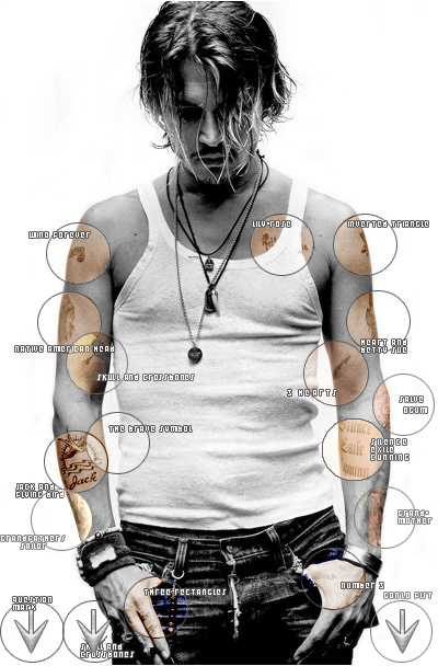 Johnny Depp Images My Tatouages Are My Story Fond D Ecran And