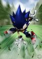 sonic the heagehog - deviantart photo