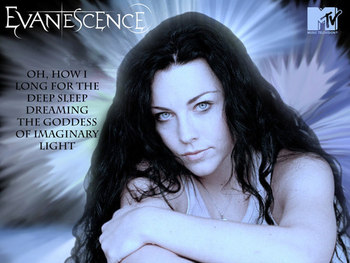 Evanescence wallpaper possibly with a portrait entitled ♥ Evanescence ♥