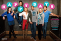 'Happy Endings' Cast Photoshoot for Entertainment Weekly - happy-endings photo