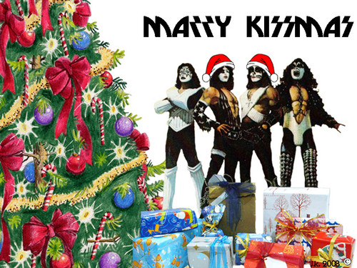 ☆ Merry Kissmas ☆  - kiss Wallpaper