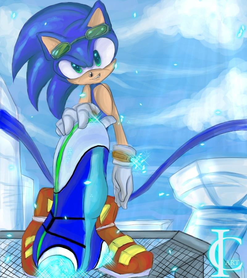 Sonic The Hedgehog Gambar Zero Gravity Hd Wallpaper And Background Foto 27395293