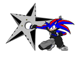 *cosplay* -Black Star- Riden - boy-sonic-fan-characters fan art