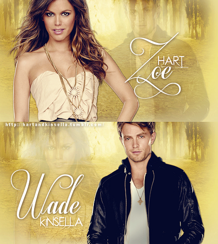 Zoe & Wade wallpaper containing a sign titled ►zoe/wade;