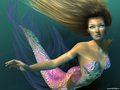 A pritty or beautiful mermaid
