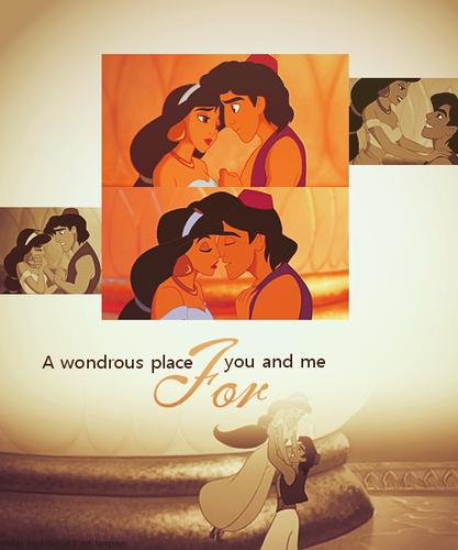 Aladdin & gelsomino ~ ♥