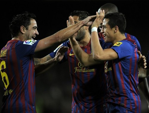 Alexis Sanchez - FC Barcelona (5) v Levante (0) - La Liga