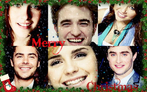 All Stars- Christmas - zac-efron Wallpaper