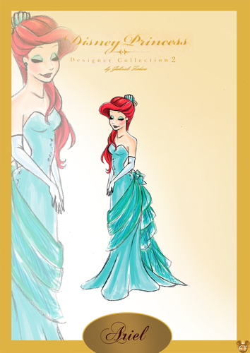Ariel DPDC2 by GF  - disney-princess Fan Art