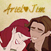 Ariel ❤ Jim Icon - jim-and-ariel icon
