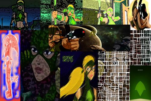 Artemis collage