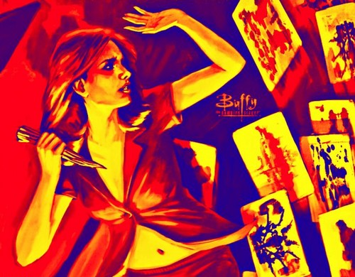 Buffyverse Comics achtergrond with anime called BUFFY THE VAMPIRE SLAYER♥