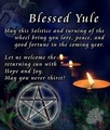 Blessed Yule (: