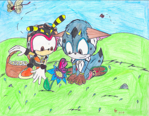 Charmy and Tolki